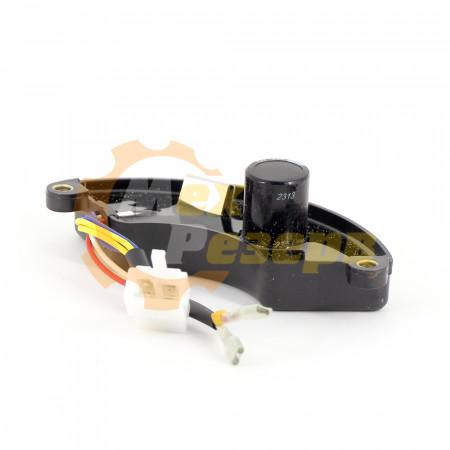 Регулятор напряжения генератора AVR 5-7 кВт 470 м.ф пластиковый корпус